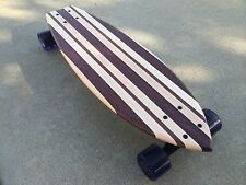 "Mini Cruiser Skateboard -  Mini Maui ""Mini Croozer""  - Purpleheart and Maple"