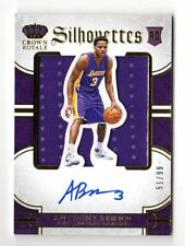 Anthony Marrón Jersey NBA 2015-16 Panini Preferred Auto RC (Lakers) #ed 51/99