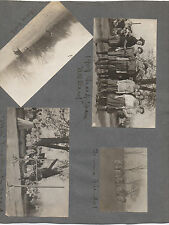 Eight 1911 Photos of Girls Sports Teams from St Timothy's Catonsville Maryland