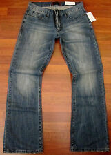 Guess Relaxed Boot Cut Jeans Mens Size 30 X 32 Vintage Distressed Medium Wash