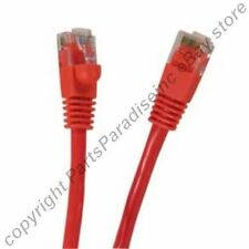 Lot640 4ft RJ45 Cat5e Ethernet Cable/Cord/Wire {RED {F
