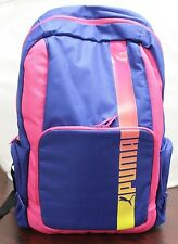 Puma Momentum Backpack Purple Pink with Multicolor Brand New With Tags