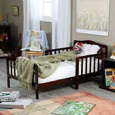 New Solid Wood Toddler Bed Cherry Kids Childrens Bedroom Furniture Free Shipping
