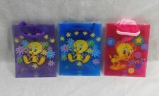 New Set of 12 Looney Tunes Tweety Bird Gift Bags with Handles
