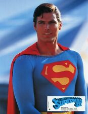 CHRISTOPHER REEVE SUPERMAN III 1983 VINTAGE LOBBY CARD #1