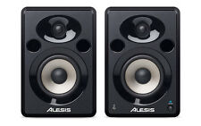 Alesis ELEVATE 5 Powered Desktop Studio Speakers With High-Density Wood Cabinets