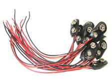 10 x Batteriehalter 9V Blockbatterie I-Form