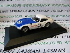 VOITURE 1/43 DEL PRADO : SHELBY TOYOTA 2000 GT 1968 Boite vitrine