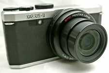 Ricoh Pentax MX-1 CMOS censor Full HD Point & Shoot digital camera *Silver *mint