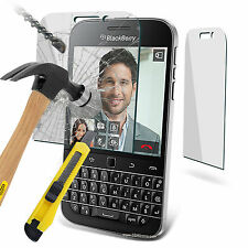Genuine Premium Tempered Glass Film Screen Protector for Blackberry Q20 Classic