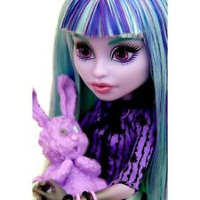 Monster High TWYLA 13 Wishes Doll Daughter of the Boogey Man & Pet Bunny Dustin