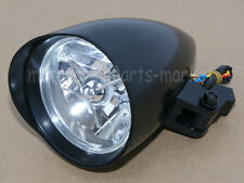 "4 1/2"" Motorcycle Black Visor Bullet Headlight Lamp For Bobber Chopper Custom"