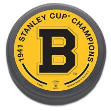 Boston Bruins 1941 Stanley Cup Champions NHL Collectors Puck