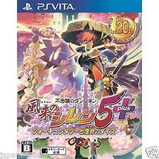 Fushigi no Dungeon Fuurai no Shir PS Vita SONY JAPANESE NEW JAPANZON