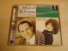 ACCORDEON 2-CD / MARCEL AZZOLA & YVETTE HORNER - LE MEILLEUR DE L'ACCORDÉON