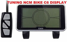 E - Bike Drosselung entfernen - C6 Display (Tuning NCM Prague, Berlin, Moscow)