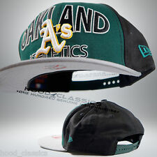 New Era 9Fifty Oakland Athletics Adjustable Baseball Cap Snapback Hat Urban Wear