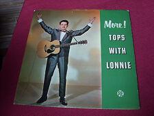 Lonnie Donegan: More Tops 1962 UK Mono pressing  LP  Plum Pye
