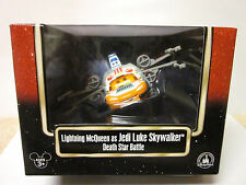 DISNEY STAR WARS PIXAR CARS LIGHNTING McQUEEN JEDI LUKE SKYWALKER STAR BATTLE