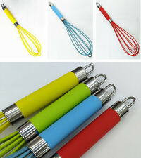 Beater Mixer Whisk Tool Hot Silicone Kitchen Egg Balloon Handle