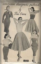 Vintage American Designers Sewing Pattern by Toni Owen