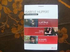 ISABELLE HUPPERT, ACTRICE DE LEGENDE - LE PETIT MARCEL / LOULOU / LES POSSEDES -