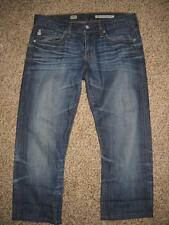 Womens AG Adriano Goldschmied the TOMBOY relaxed straight denim jeans 27 cropped