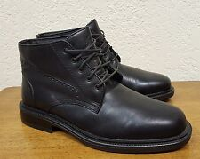 Men's Giorgio Brutini Black Leather Lace-up Boots 4731 Size 7 Italy