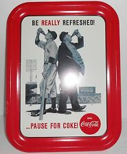 COCA COLA TRAY BE REALLY REFRESHED BASEBALL 1992 COKE