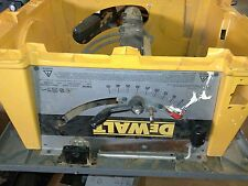 USED 153388-00 LEVER RAIL LOC FOR DW744 TYPE 1   PART ONLY-PICTURE OF ENTIRE SAW
