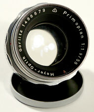 MEYER-OPTIK 'PRIMOPLAN' 58mm f1.9 V M49 S.O.R.
