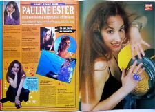 PAULINE ESTER =  Coupure de presse 2 pages 1990