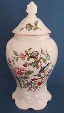 Aynsley Pembroke Regency FINE PORCELLANA cinese con coperchio coperto vaso pot jar England