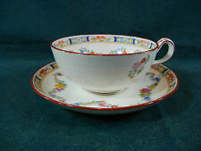 Minton Rose A4807 Globe Mark Low Decorated inside Cup and Saucer Set(s)