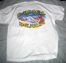 "NOS Vintage 1991 Joe Camel ""Camel Beach"" Pocket T-Shirt Size XL!"