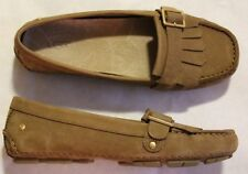 New Women UGG Loafers Moccasins Flats Slip on Casual Shoes Leather  Size 6