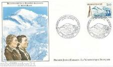 1986**ENVELOPPE ILLUSTREE**FDC 1°JOUR!!**ASCENSION MONT-BLANC**TIMBRE Y/T 2422