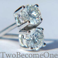 3,00 ct Platino D se brillante rotondo taglio diamante orecchini & GIA Certified