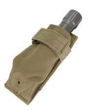 CONDOR MOLLE Modular Tactical Nylon Flashlight Pouch ma48 - COYOTE TAN