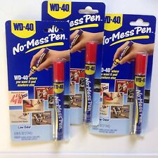 3 New Sealed WD-40 No-Mess Pen Lube Maintenance Rust Corrosion