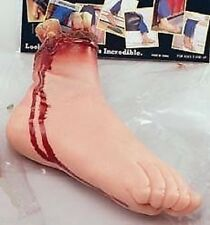 HALLOWEEN NEW CUT OFF RUBBER FAKE FOOT FANCY DRESS SCARY HORROR PARTY SHOP PROP