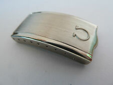 NEW GENUINE OMEGA WATCH BRACELET BUCKLE/CLASP COVER. STAINLESS STEEL NOS