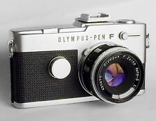 Olympus-Pen F with Zuiko 38mm Lens