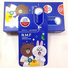 Mediheal x Line Friends N.M.F Aquaring Ampoule Mask 27ml*10pcs:Nasarang_Korea