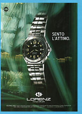 BELLEU004-PUBBLICITA'/ADVERTISING-2004- LORENZ AQUITANIA DIVER