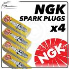 4x NGK SPARK PLUGS Part Number CR7HSA-9 Stock No. 5147 New Genuine NGK SPARKPLUG