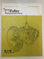 EATON Fuller Transmission ILLUSTRATED PARTS LIST for RT-14613 Series 1980