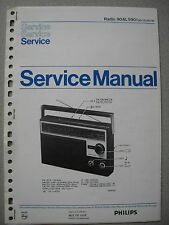 Philips 90 AL590 Kofferradio Service Manual