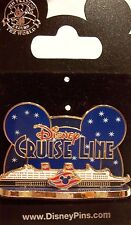 Disney Cruise Line Mickey Ears Ship Pin New on Card