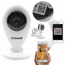 720P HD H.264 Wifi Wireless IP Security Camera IR-Cut Night 2 Way Audio Iztouch